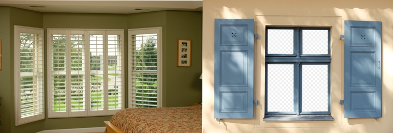 Minneapolis MN interior and exterior shutters