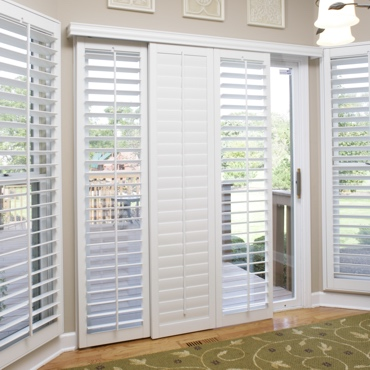 Minneapolis Sliding Patio Door Shutters