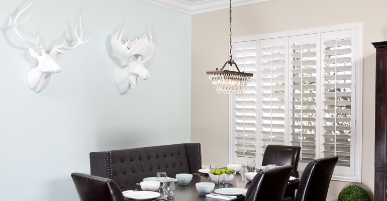Minneapolis dining room shutters