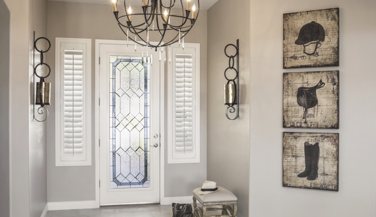 Minneapolis front door shutters