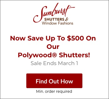 Sale on Minneapolis Polywood Shutters