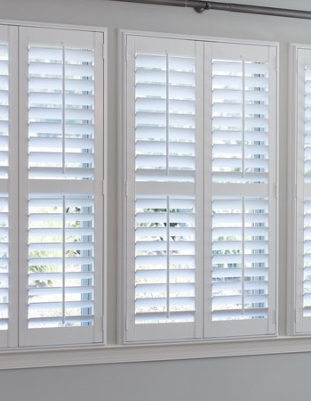 Hidden tilt rod shutters on Minneapolis windows