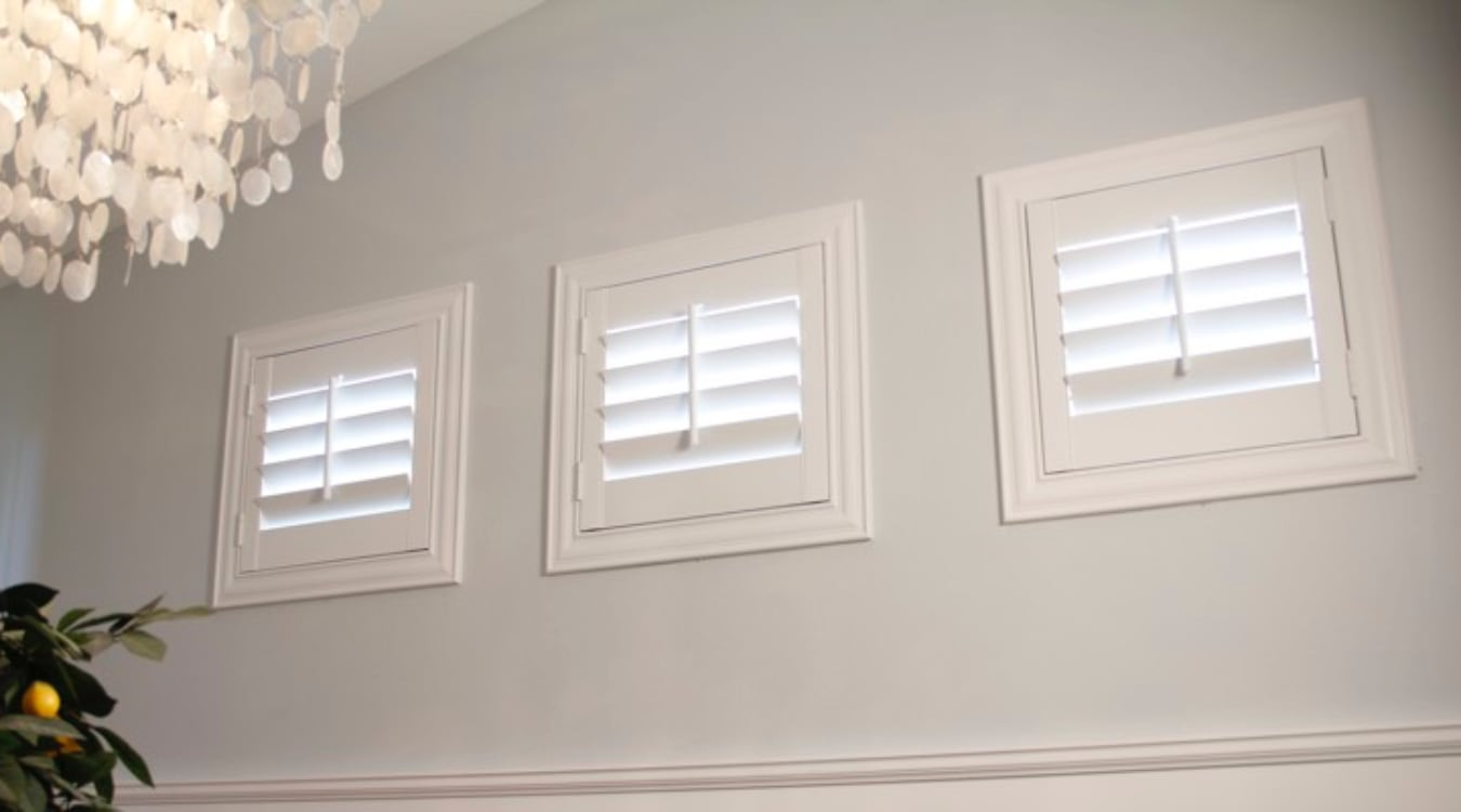 Minneapolis small window shutters