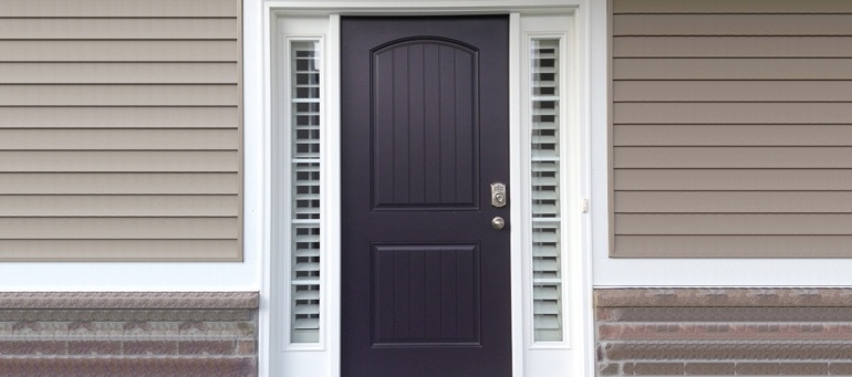 Entry Door Sidelight Shutters In Minneapolis, MN